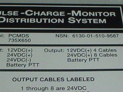 Pulse Tech 12V & 24V Bussmann Distribution Panel Boat Marine Circuit Breaker 7