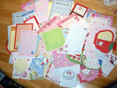 Lot Sanrio Hello Kitty Stationery//Stationary Memo 75 sheets