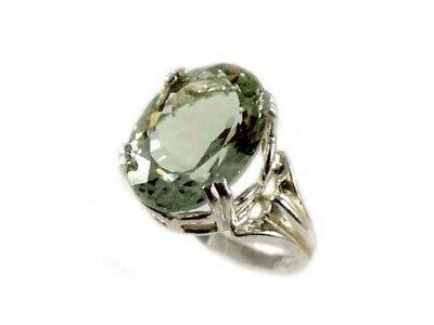 Green Amethyst Ring Antique 19thC Poland Ancient Celt Rome Greek Warrior Amulet 3