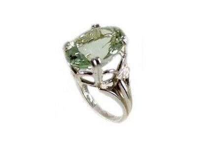 Green Amethyst Ring Antique 19thC Poland Ancient Celt Rome Greek Warrior Amulet 8