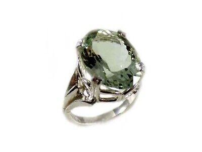 Green Amethyst Ring Antique 19thC Poland Ancient Celt Rome Greek Warrior Amulet 2