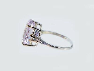 19thC Antique 10ct Afghani Kunzite Gold Ring Ancient Good Luck Symbol of Purity 5