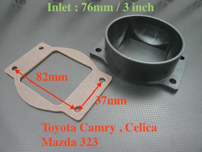 """GREEN 3 Inch 3/"""" 76mm Cold Air Intake Cone Filter For Toyota Celica MR2 Camry"""