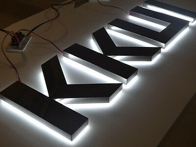 customized lighting sign letters business logos signage channel letters,12inches 4