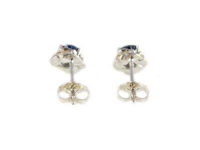 Blue Sapphire Earrings ¾ct+ Antique 19thC - Medieval Ram Gem Stopped Black Magic 10
