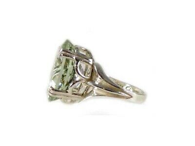 Green Amethyst Ring Antique 19thC Poland Ancient Celt Rome Greek Warrior Amulet 5