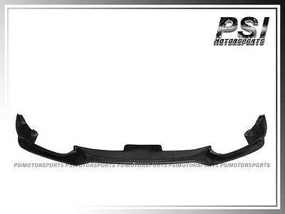 E Style Carbon Fiber Front Bumper  Lip for 11-15 BMW F10 M-Tech Only 528i 550i 3