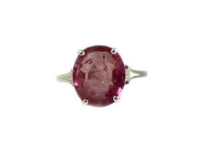 Red Sapphire Ring Antique Black Magic Gem 19thC Medieval Oracle Sorcery Prophecy 4