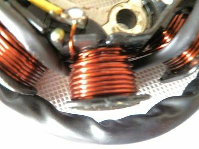 50CC CHINESE GY6 Scooter 8 Coil Magneto Stator Charging System 8 Pole 5  Wires