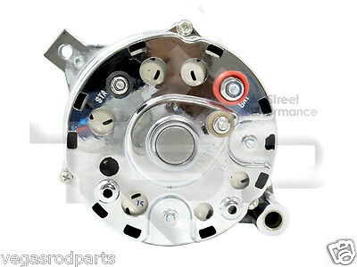 ford g alternator wiring ford image wiring diagram alternator chrome ford 289 302 351w mustang 3 wire 100 amp on ford 1g alternator wiring
