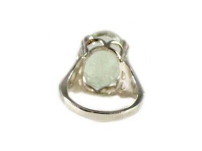 Green Amethyst Ring Antique 19thC Poland Ancient Celt Rome Greek Warrior Amulet 11