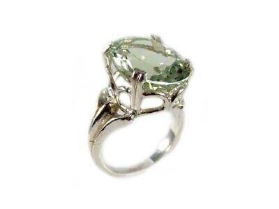 Green Amethyst Ring Antique 19thC Poland Ancient Celt Rome Greek Warrior Amulet 7