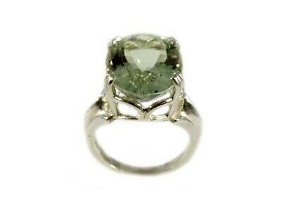 Green Amethyst Ring Antique 19thC Poland Ancient Celt Rome Greek Warrior Amulet 6