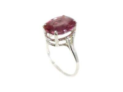 Red Sapphire Ring Antique Black Magic Gem 19thC Medieval Oracle Sorcery Prophecy 5