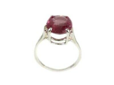 Red Sapphire Ring Antique Black Magic Gem 19thC Medieval Oracle Sorcery Prophecy 6