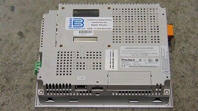 USED Basler Electric / Pro-Face 3280035-01 Touchscreen Operator Interface 2
