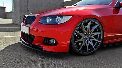 Cup Spoilerlippe für BMW 3er BMW e92 e93 Front Schwert Splitter M Paket Lippe M3