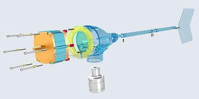 GREENERGYSTAR DIY WIND Turbine Parts Set For GM Generator