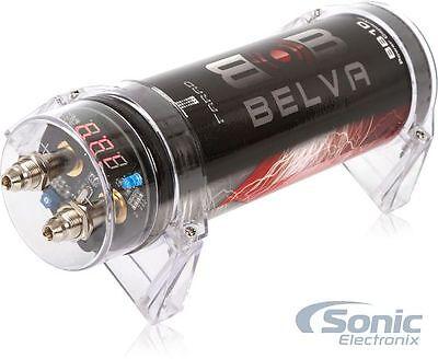 Install Bay IB-CAP1F 1.0 Farad Digital Car Capacitor Cap IBCAP1F