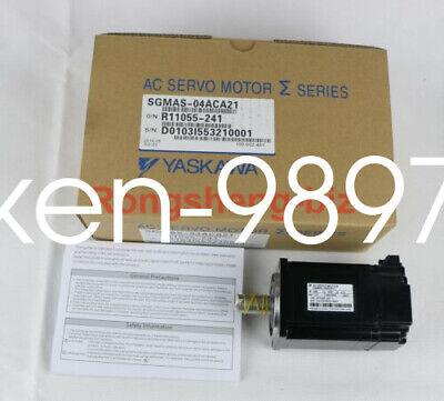1PC NEW Yaskawa servo motor SGMAS-04ACA21 #HC 3