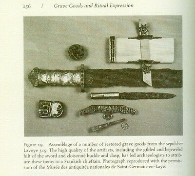 Medieval Merovingian Frank Gaul Celt Mortuary Archaeology Jewelry Clothes Weapon 7