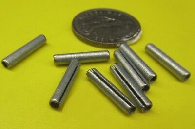 """Zinc Plate Slotted Roll Spring Pin, 9/64"""" Dia x 3/4"""" Length, 100 pcs 6"""