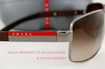 5daa1a8c74e ... shopping 3 of 4 brand new prada sport linea rossa sunglasses ps 54i  54is 5av6s1 brown