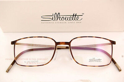 f2def996cb3 ... Silhouette Eyeglass Frames Urban Lite 2884 6055 Havana Bronze SZ 54  Unisex 2