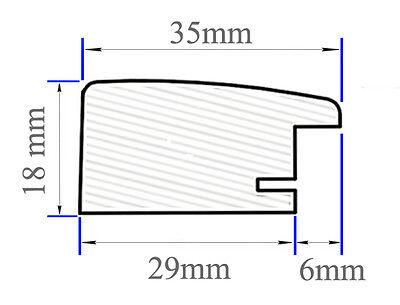 EUROLINE35 Bilderrahmen 55x33 oder 33x55 cm mit entspiegeltem Acrylglas