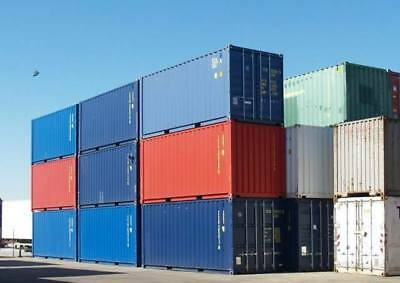 Used 40' High Cube Shipping Container Los Angles, California 2