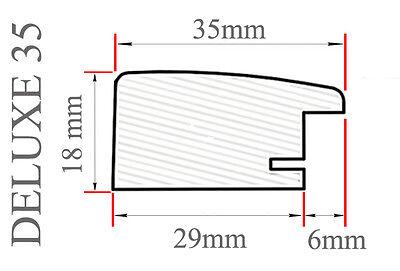 DELUXE35 Bilderrahmen 46x28 cm oder 28x46 cm Foto//Galerie//Posterrahmen