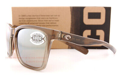 2235dc491b05 ... New Costa Del Mar Sunglasses PANGA Shiny Taupe Crystal/copper Silver  Mirror 580G 3