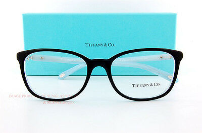 61396c37e63 ... Brand New Tiffany   Co. Eyeglass Frames 2109HB 8193 Black SZ 53 Women 2