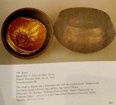 Ancient Thrace Gold Treasure Jewelry Hellenic Trojan War Greek Roman Phoenician