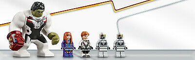 LEGO Super Heroes 76144 Avengers Hulk Helikopter Rettung Black Widow 5