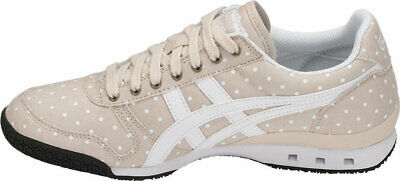 Womens Onitsuka Tiger Ultimate 81 Beige Canvas Retro Casual Trainers Shoes Size 2