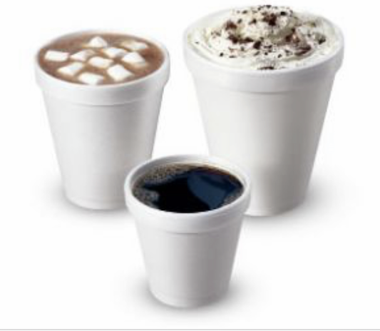 Disposable Polystyrene Tea/Coffee Takeaway Cups 7oz - 10oz -12oz Cups With Lids 3