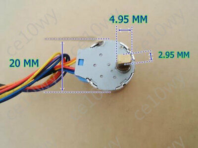 20mm Stepper Motor 4-Phase 5-Wire Gearbox Stepping Motor Micro Controller DIY 2