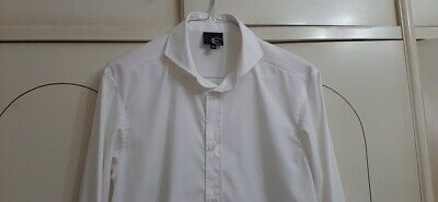 camicia roberto cavalli tg 52 ricamo JEKO  bianca