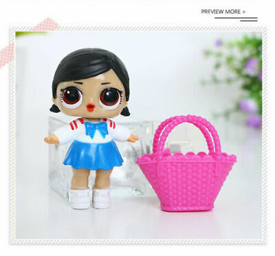 6 Pcs LOL Surprise Girls Dolls w/Accessory For Kids Party Toys Figures Gift Set 8