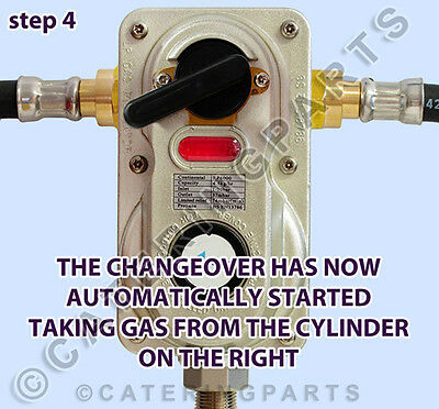Caravan / Campervan Two Bottle Change Over Kit Lp Lpg Propane For 2 Gas Cylinder