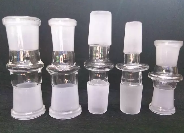 Glass Bowl Adaptor 14mm 18mm Male or Female Joint Slide Extensions 2