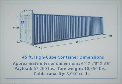 45' HC Shipping Container / 45ft Cargo Worthy Container in Minneapolis, MN 7
