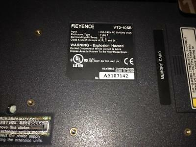 1PC Used Keyence touchscreen VT2-10SB in good condition 2