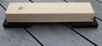 1a terrassenpads f r unterkonstruktion unterlage gummi pad. Black Bedroom Furniture Sets. Home Design Ideas