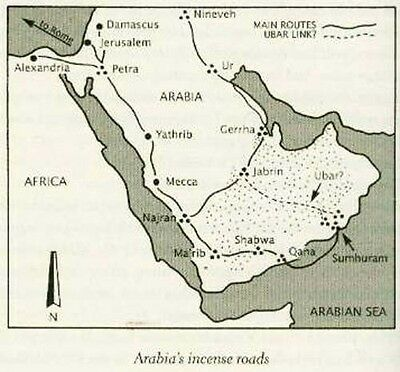 """Road to Ubar"" Arabian Atlantis Buried by Allah's Wrath AD300 Ptolemy's Atlas 3"
