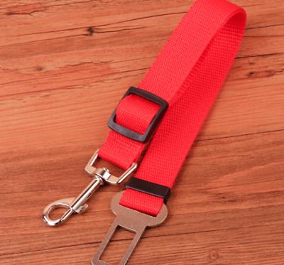 Dog Cat Pet car seatbelt safety insert retractable seat belt buckle universal 7