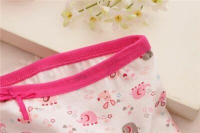 4 Pack Girls Boxer Shorts Underwear Briefs Cotton Knickers Age 2 4 5 6 7 8 9 Yrs 6