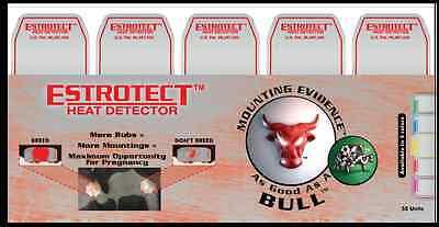 Estrotect Heat Estrus Detector Patches EstroAlert 5 ct Pink AI Breeding Cattle