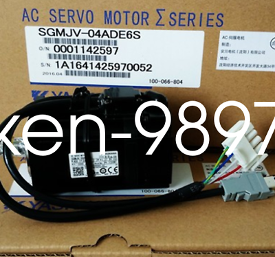 1PC New IN BOX Yaskawa Servo Motor SGMJV-04ADE6S #HC 2